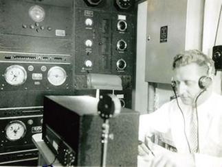 Radio Room  LS 112, 1936; Photo No. 214, 1936; photographer unknown (Courtesy of USCG)
